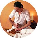 Fuß-Reflexzonen-Massage